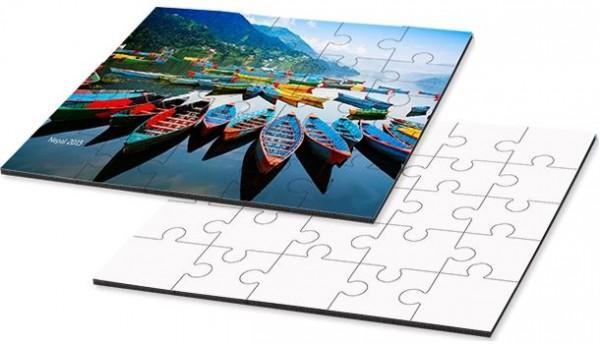 puzzle, quadratisch