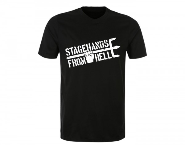 Stagehands From Hell - Logo / T-Shirt front
