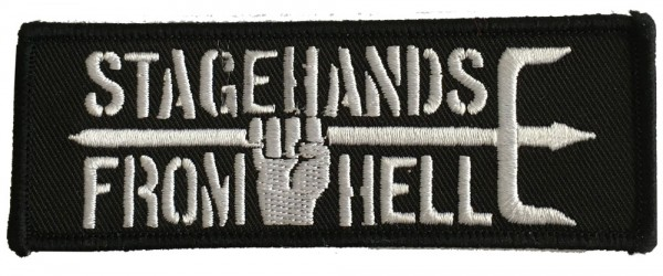 Stagehands From Hell - Logo / Patch