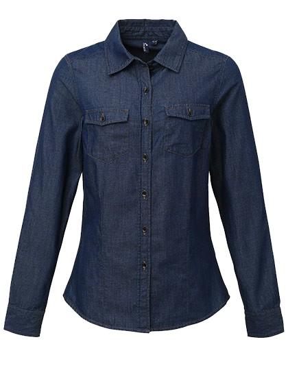 Denim Jeans Hemd_Front