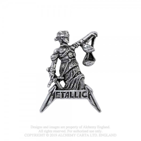 Metallica - And justic for all (Pin)