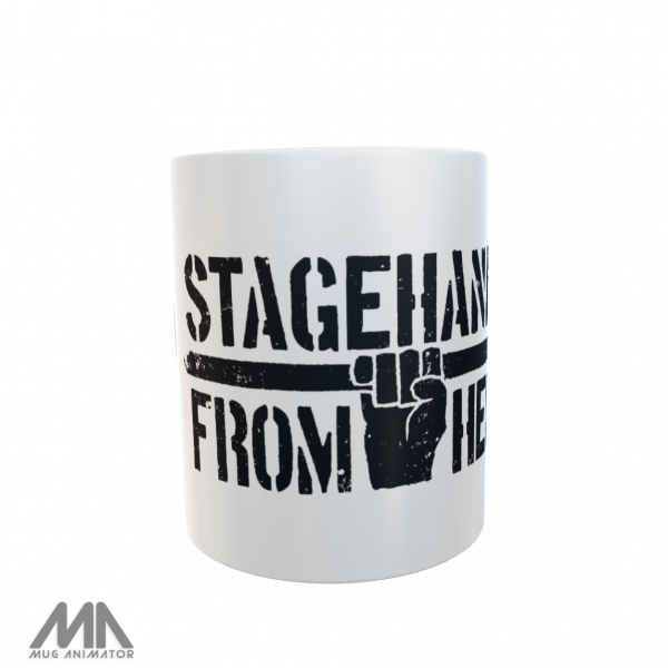 Stagehands From Hell - Logo / Tasse